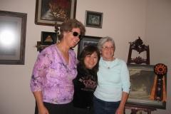 Pam, Yukari and Les